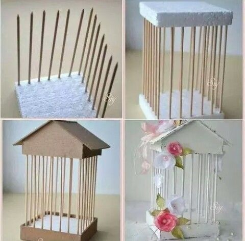 Flower house diy