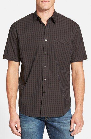 James Campbell 'Pauley' Regular Fit Button Front Shirt