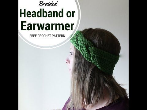 Braided Crochet Headband and Earwarmer | Chaleur Life... Great for the weather that's coming!.. Free pattern!.. Thanks for sharing!