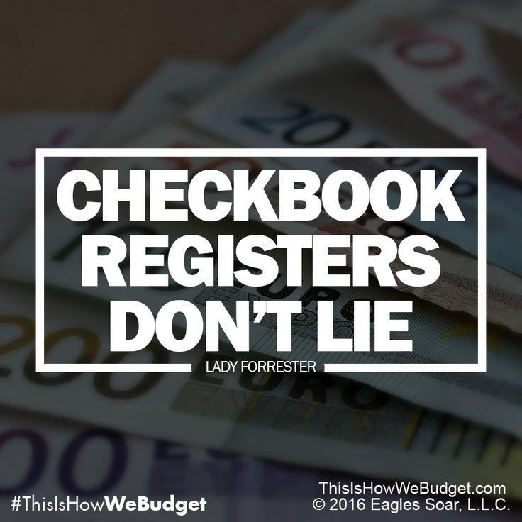 The 25+ best Checkbook register ideas on Pinterest   Check ...