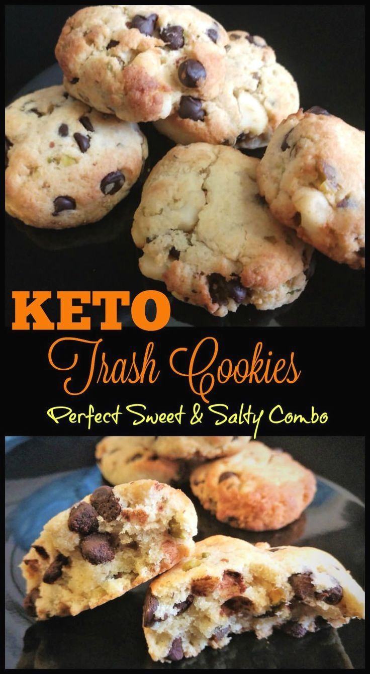 Life With Leha saved to Low Carb & KetoPin10kKeto Trash Cookies Recipe 25 Indulg…