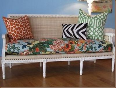 pillows with Chiang Mai Dragon fabric