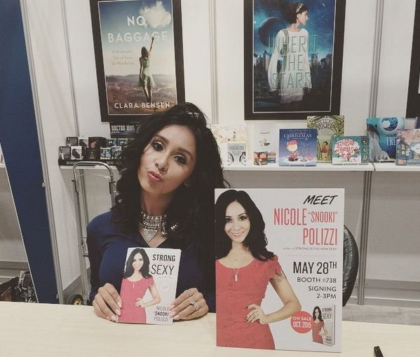 "Snooki Publishing Her Fifth Book, ""Strong is the New Sexy: A Kickass Memoir"" And Isn't Letting Anyone Put Her Down"