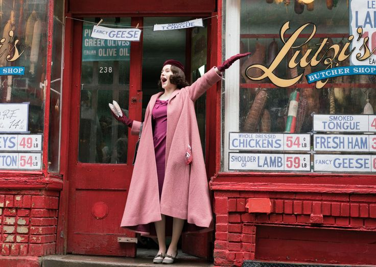 The Marvelous Mrs. Maisel.   Gilmore Girls fans.. Amy Sherman-Palladino, writer/creator/producer.. set in the 50's..