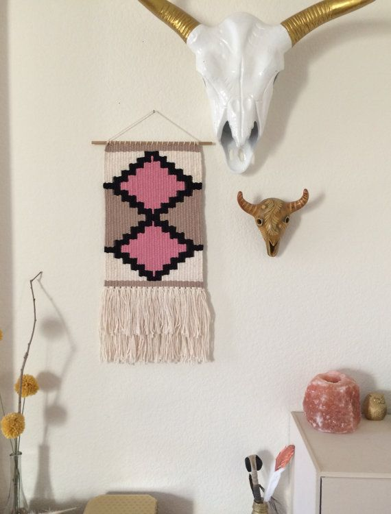 Woven Tapestry // Woven Wall Hanging by SPECIALIKE on Etsy