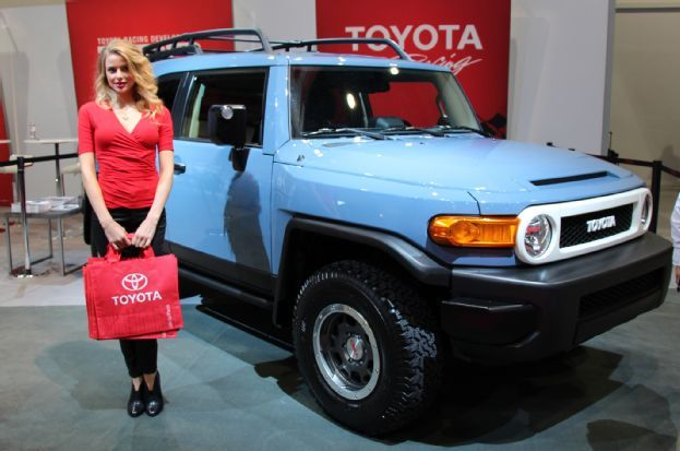 2014 Toyota FJ Cruiser Trail Teams Ultimate Edition; sadly the last of the FJ Cruisers to be produced.