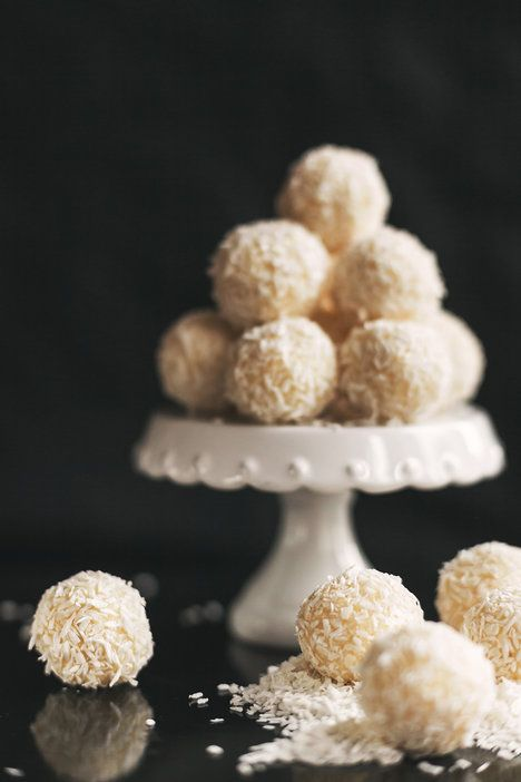 Jednoduchým kuličkám z bílé čokolády dodá šmrnc čerstvý zázvor; Eva Malúšová