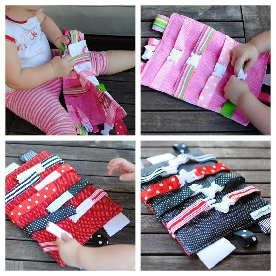 Buckle Toy for Toddlers ~ A would LOVE something like this!