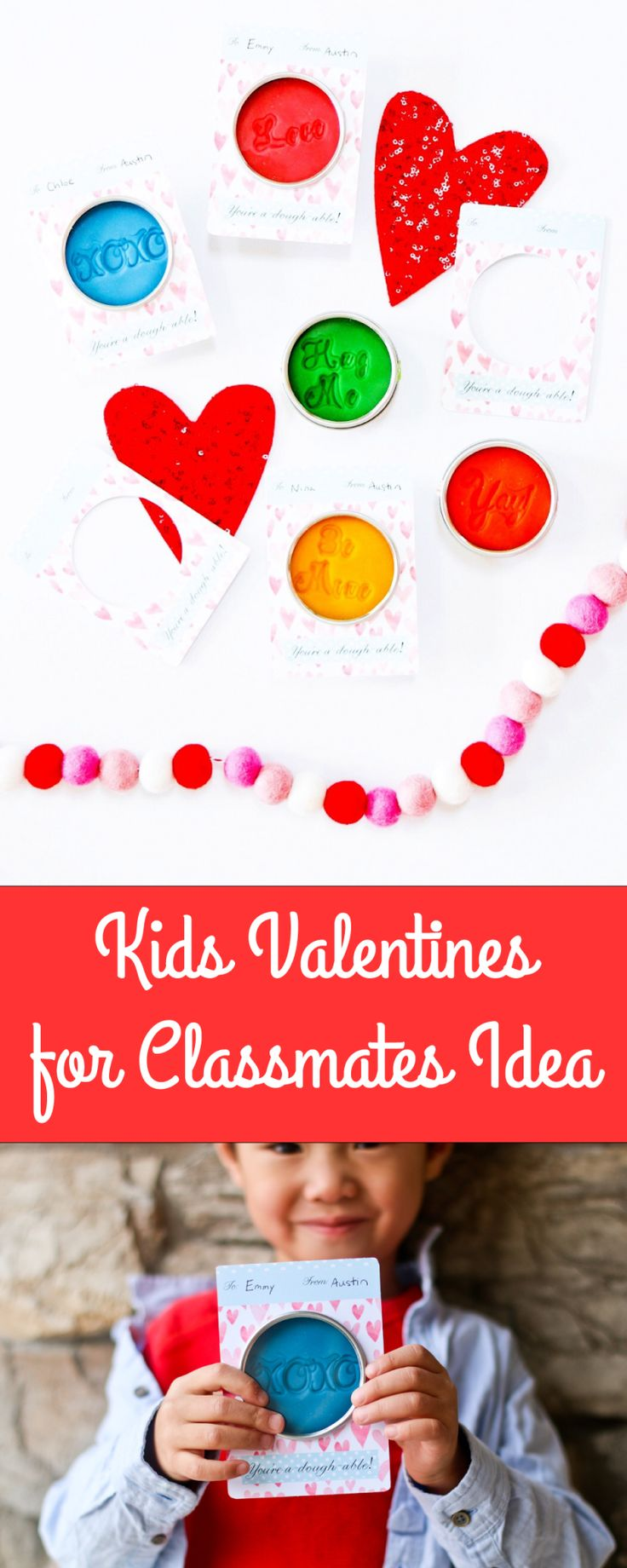 A Valentine's Day Kids Gift Idea for classmates.
