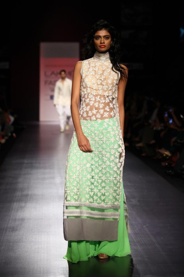 Manish Malhotra - green