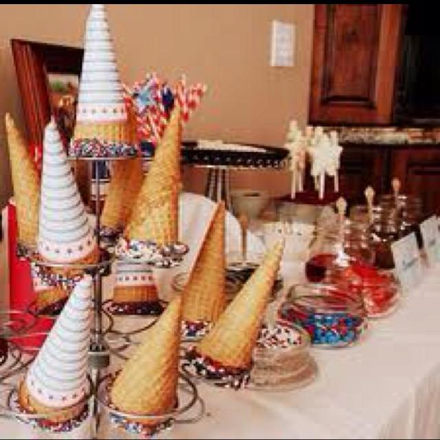 Ice Cream Sundae Bar   Party Ideas   Pinterest