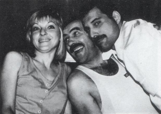 Mary Austin, Jim Hutton & Freddie Mercury