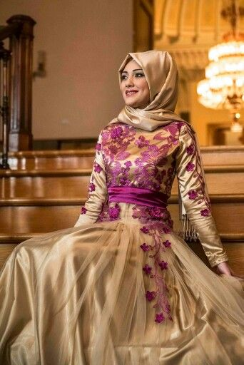 Lovely gold and violet. Totally would wear! #hijab #goldandviolet #lovely