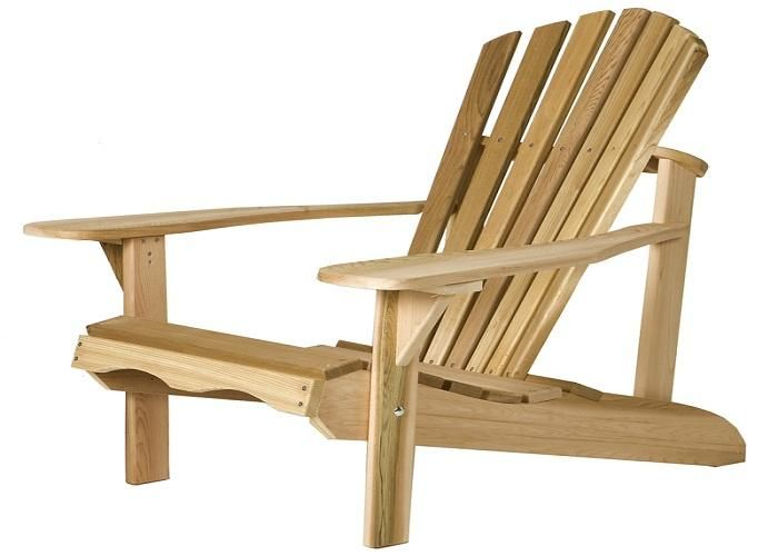 Wooden Adirondack Chair Plans Free Woodworking Plans