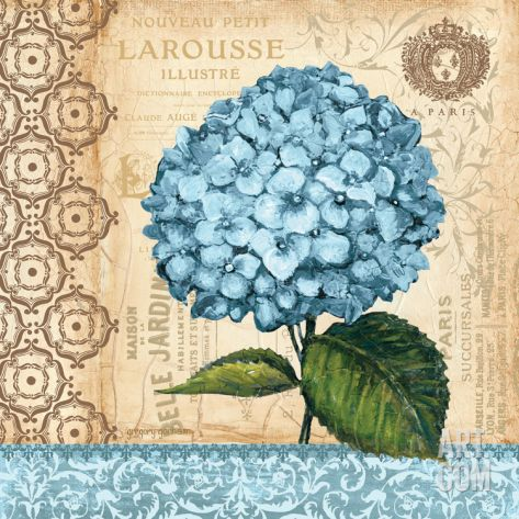 Hydrangea Print by Gregory Gorham at eu.art.com
