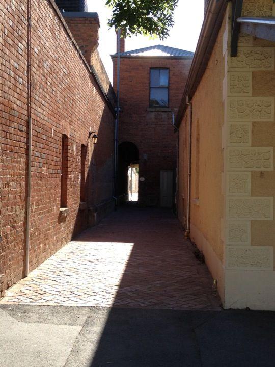 Love this alleyway in the Port of Echuca