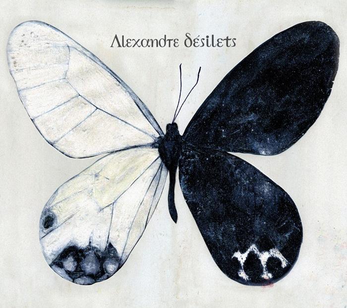 "Alexandre Désilets. ""Escalader l'ivresse"" album cover. Artwork by: Yves Archambault. #album #artwork #music #montreal #album #cover #butterfly"