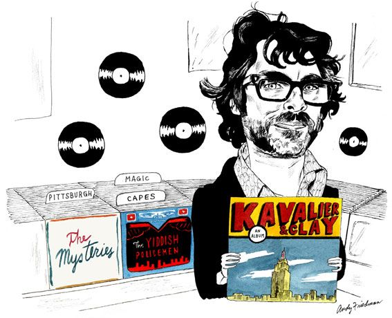 Michael Chabon's Strange New Sound