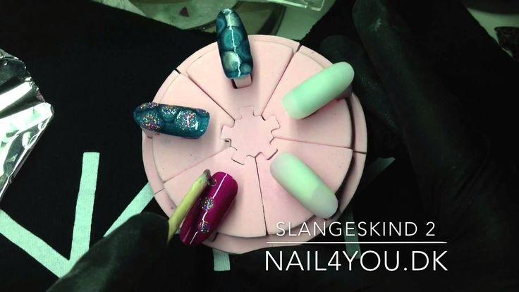 Alt i Gelenegle og akrylnegle, køb dine negle produkter hos Nail4you.dk Snakeskin nail ar nails