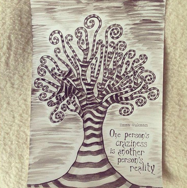 Tim Burton inspired Tree by emmaupsidedown on deviantART