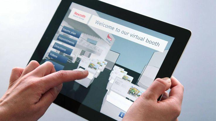 raumHOCH | Bosch Rexroth Messe-App