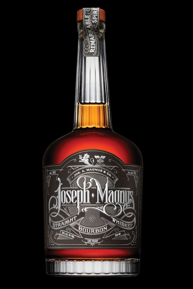 Joseph Magnus Bourbon — The Dieline - Branding & Packaging Design