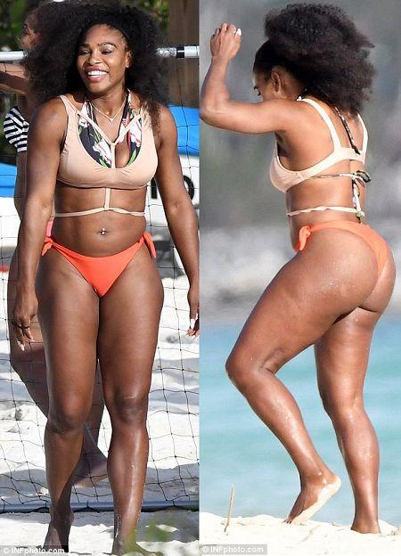 Welcome to Oghenemaga Otewu's Blog: Photos: Serena Williams puts her sexy bikini body ...