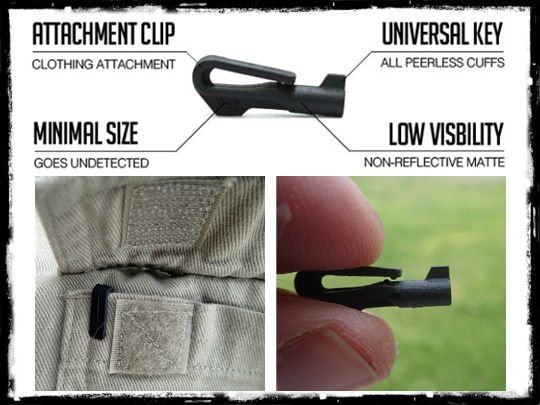 The Perfect Everyday Carry Handcuff Key