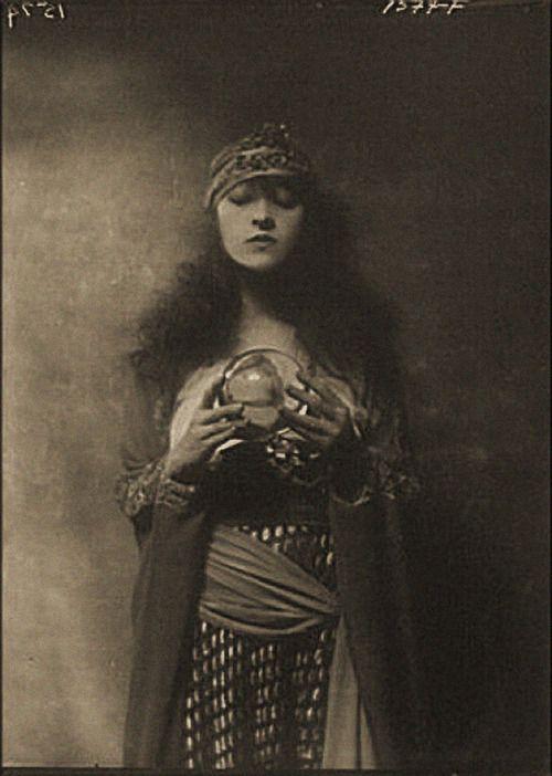 old halloween, fortune teller.Valerie Avlo Taylor Argumaniz