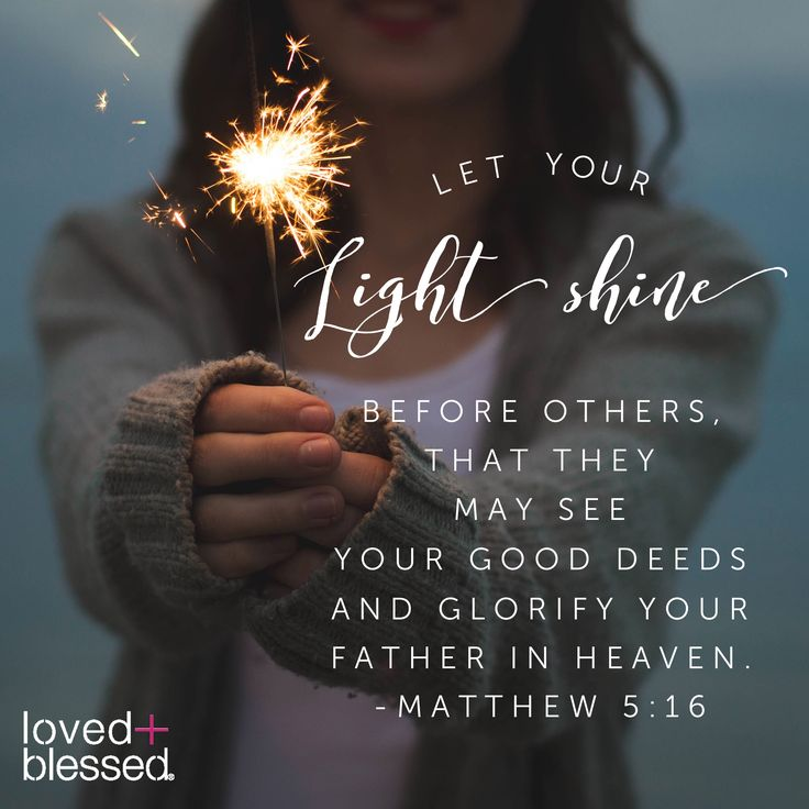 Let it shine, let it shine, let it #shine Matthew 5:16