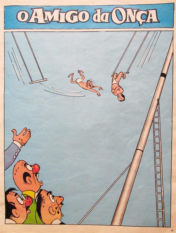 O Amigo da Onça (1943-1961), por Péricles | designices