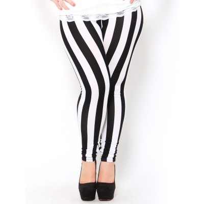 Wide #Stripe #Leggings | Fashion with Curves