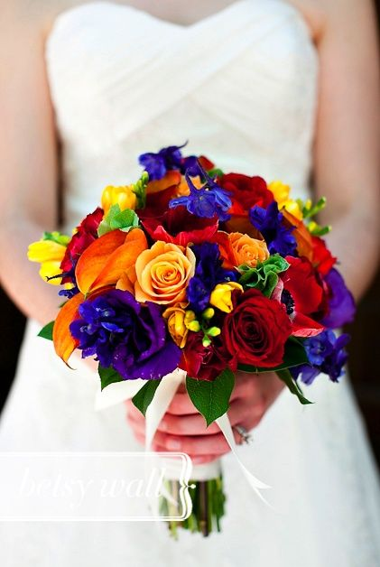 colorful bouquet | Colorful Bouquet | Wedding Ideas