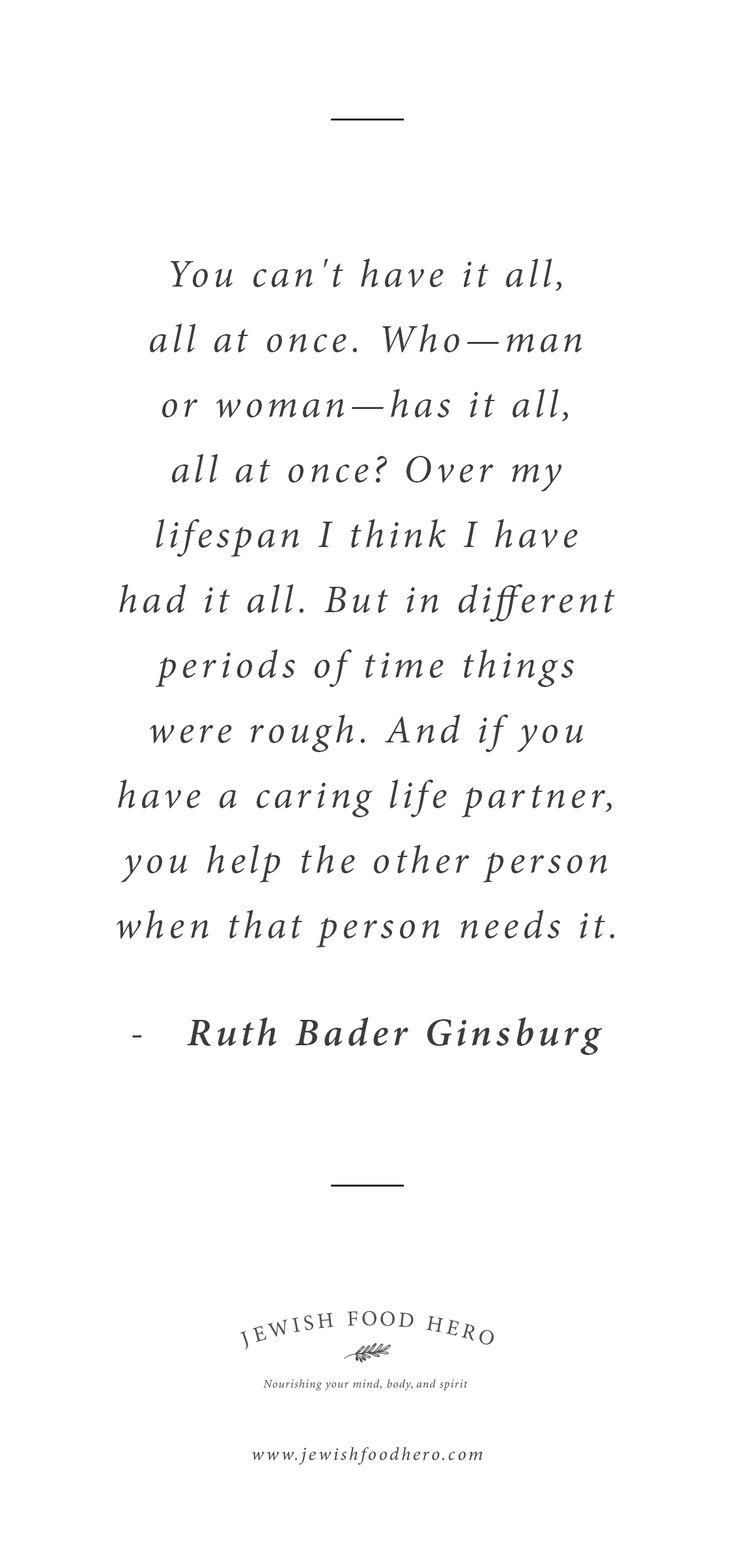 Ruth Bader Ginsburg Quotation