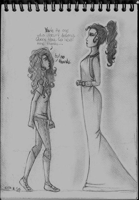 Annabeth vs Hera