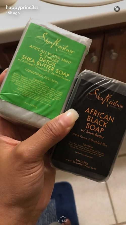 African black soap my faavv haven't tried the other  | Pinterest: Mysticalleia |