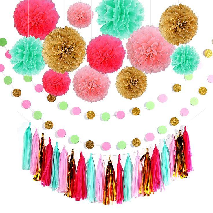 Der Spielzeugtester hat das Geburtstag Dekoration, Birthday Girlande Set, 12 Sei… – Spielzeugtester