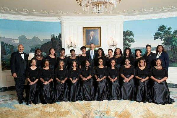 Spelman College Choir with President Obama
