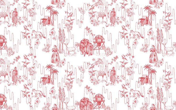 les 41 meilleures images propos de toile de jouy sur pinterest nantes tissus et chinoiserie. Black Bedroom Furniture Sets. Home Design Ideas
