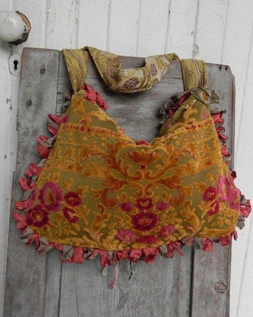 Prairie Couture Carpet Bag - Vagabond Gypsy Style - SALE 40% OFF