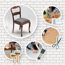 die besten 25 stuhl polstern ideen auf pinterest. Black Bedroom Furniture Sets. Home Design Ideas