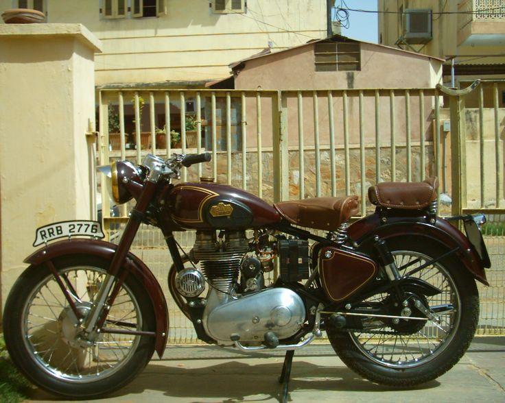 Royal Enfield 500 modelo 1947  mi juguete a los 18 años