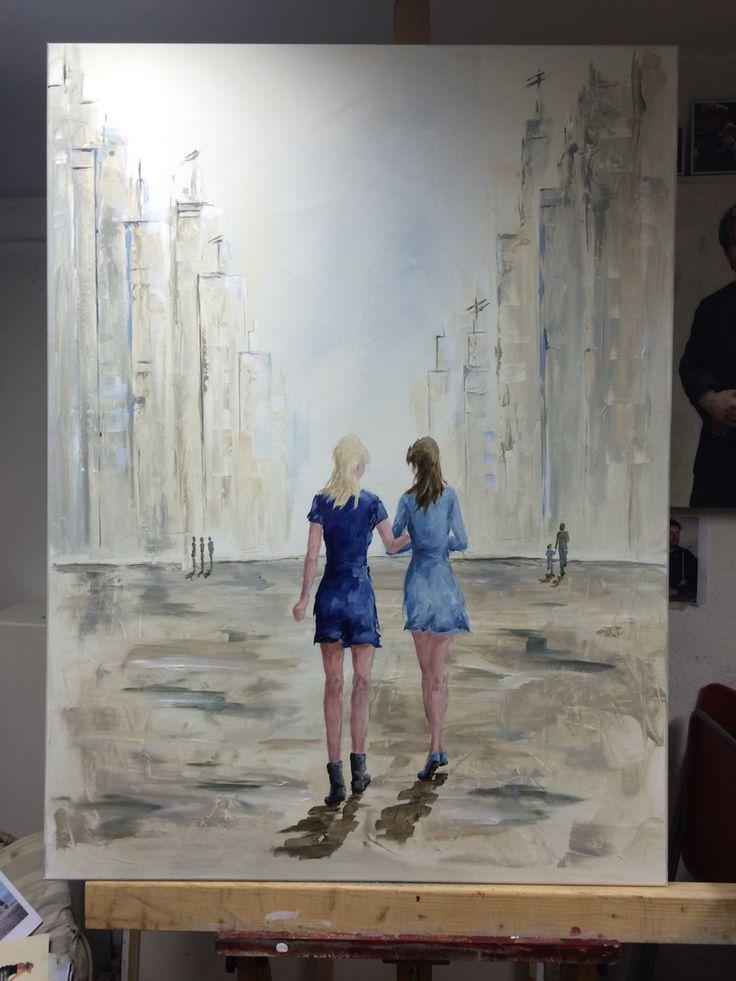 Meer dan 1000 ideeën over Parijs Schilderij op Pinterest - Moderne ...