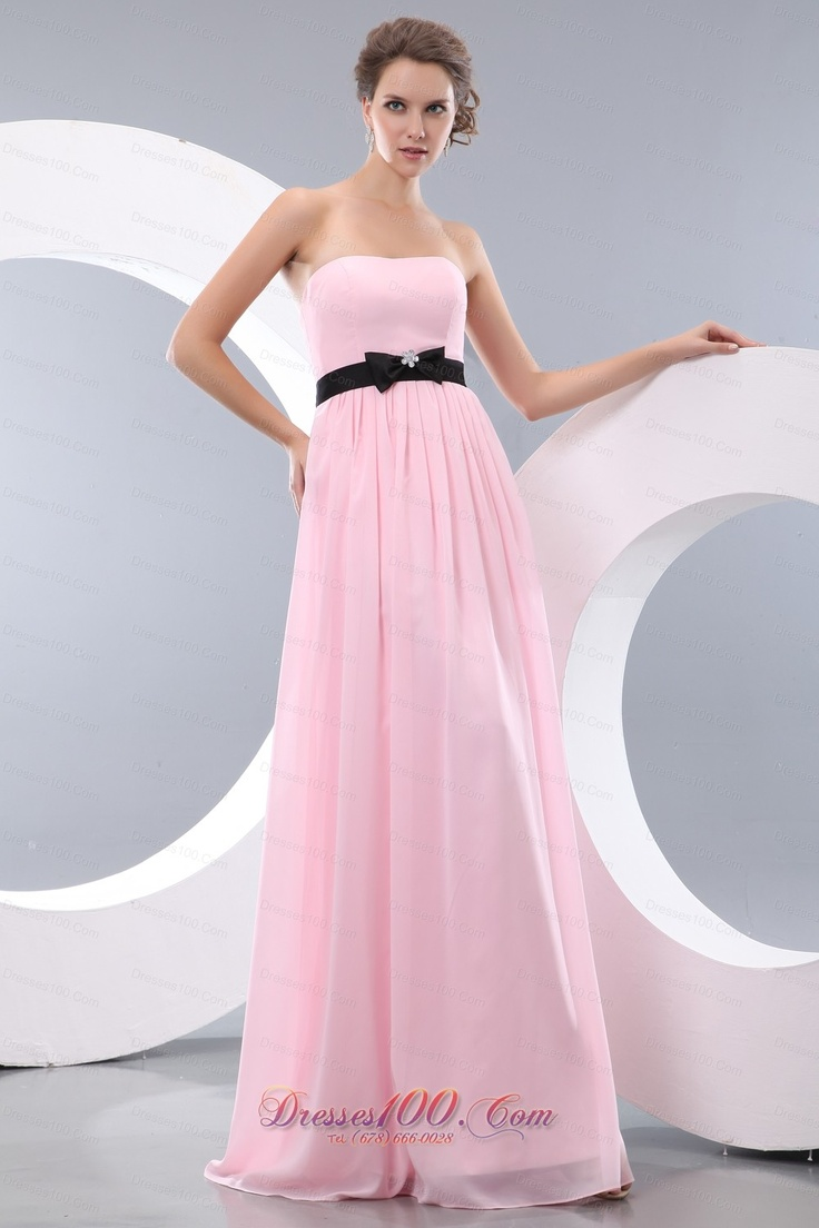 33 best hot prom images on pinterest dress prom dresses 2013 simple pink and black long chiffon bow beach bridesmaid dresses ombrellifo Gallery