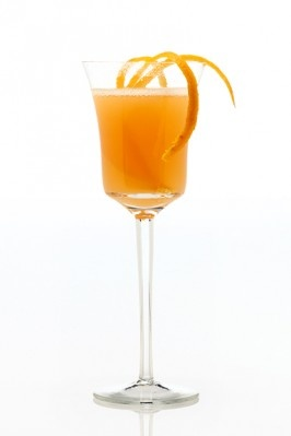 Armagnac champagne cocktail dress