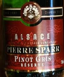 Pinot gris d'Alsace, Pierre Sparr Réserve 2010 pour accompagner le homard - Espace Fontaine. 6 juin