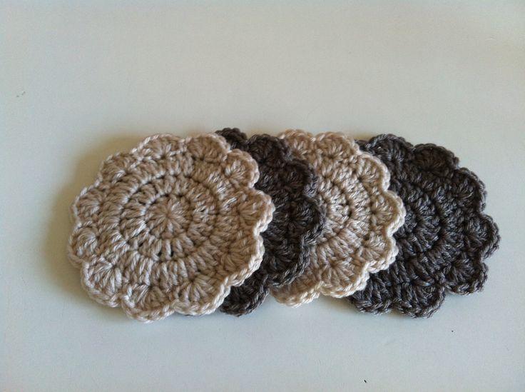 #crochet #handmade #coasters