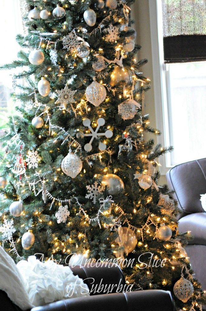 17 best ideas about silver christmas tree on pinterest white christmas tree decorations. Black Bedroom Furniture Sets. Home Design Ideas