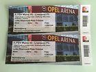 #Ticket  2 x Tickets 1. FSV Mainz 05  Liverpool FC #deutschland