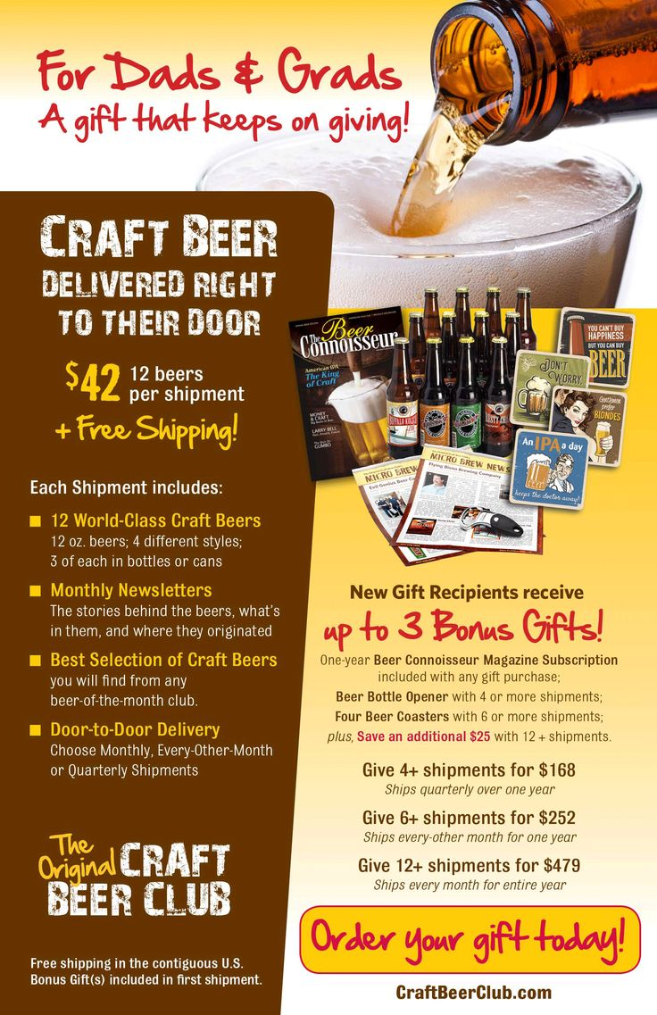 Best 25 beer club ideas that you will like on pinterest for Best craft beer of the month club